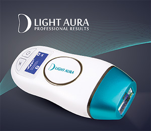 epilatore D Light Aura luce pulsata