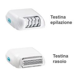 Testina epilazione e rasoio HoMedics Me my Elos 1.0/2.0